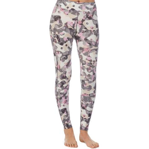 DKNY Grey Camo A Step Ahead Legging