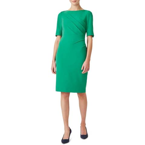 Hobbs London Green Geraldine Dress
