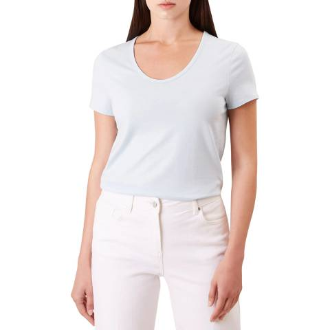 Hobbs London Blue Alys T-Shirt