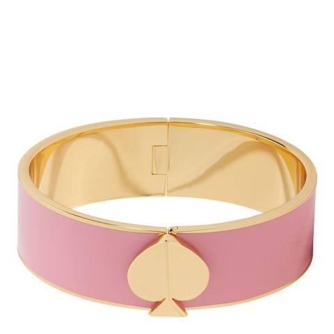 Kate Spade Rococo Pink Spade Bangle