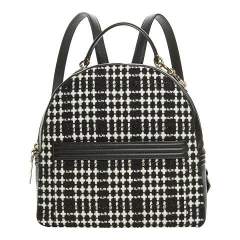 Kate Spade Black Houndstooth Backpack