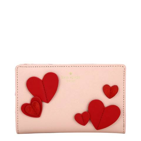 Kate Spade Warm Vellum Heart Dara Bifold Wallet