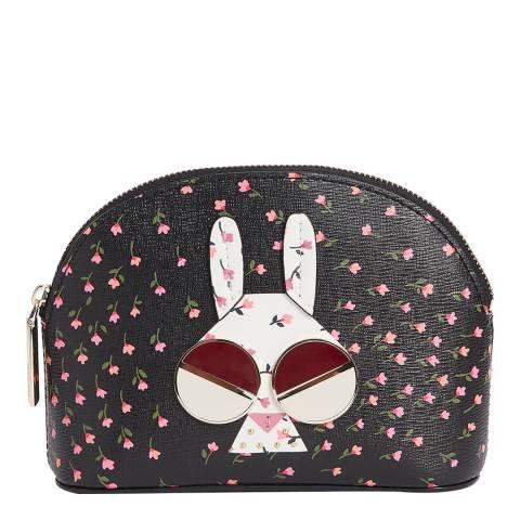 Kate Spade Multi Money Bunny Small Cosmetic Case
