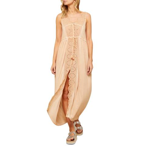 N°· Eleven Melon Jersey Broderie Anglaise Cover Up