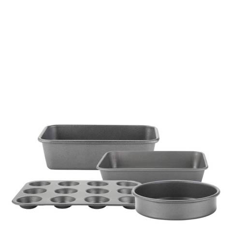 Prestige 4 Piece Tough & Strong Bakeware Set