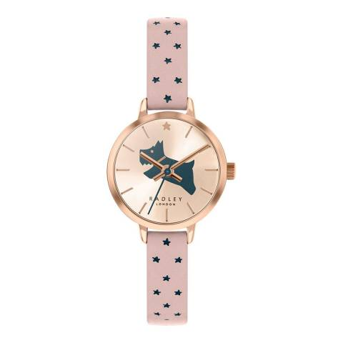 Radley Gold and Nude Leather Watch