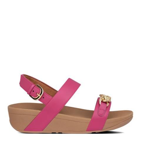 FitFlop Fuchsia Lottie Chain Back Strap Sandals