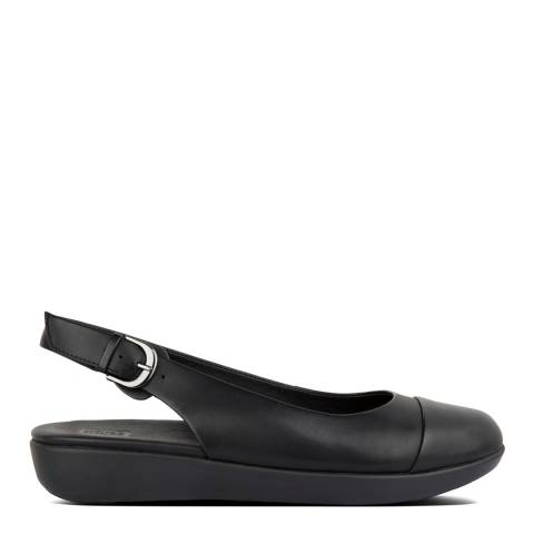 FitFlop All Black Charley Sling Back Ballerinas