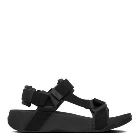 FitFlop Black Ryker Webbing Sandals