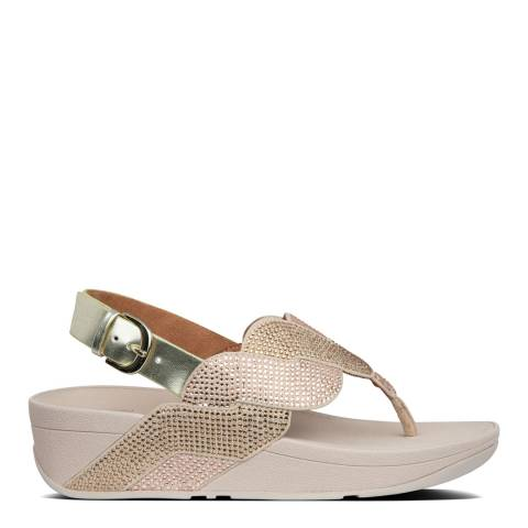 FitFlop Platino Paisley Rope Back Strap Sandals