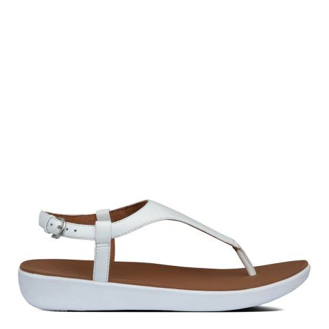FitFlop Urban White Lainey Toe Thong Sandals