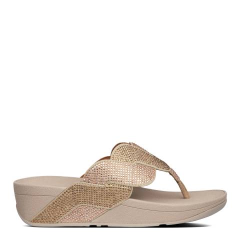 FitFlop Platino Paisley Rope Toe Thong Sandals