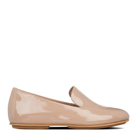 FitFlop Taupe Lena Patent Loafers