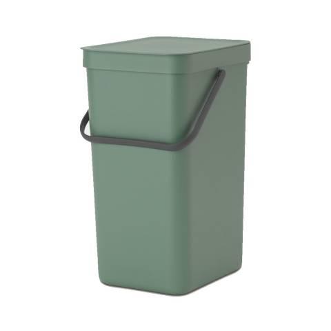 Brabantia Fir Green Sort & Go Waste bin, 16 litre