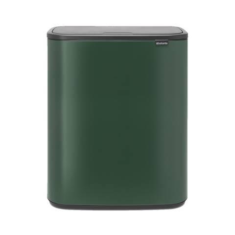 Brabantia Pine Green Bo Touch Bin 60L