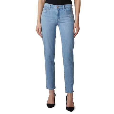 J Brand Blue Adele Straight Stretch Jeans