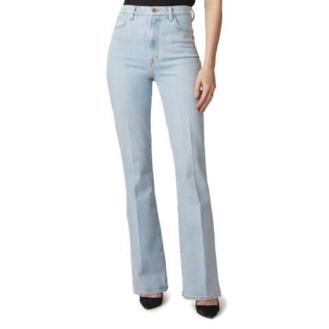 J Brand Pale Blue 1219 Runway Flared Stretch Jeans