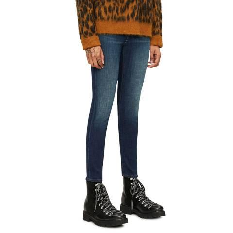 J Brand Mid Blue 835 Skinny Stretch Jeans