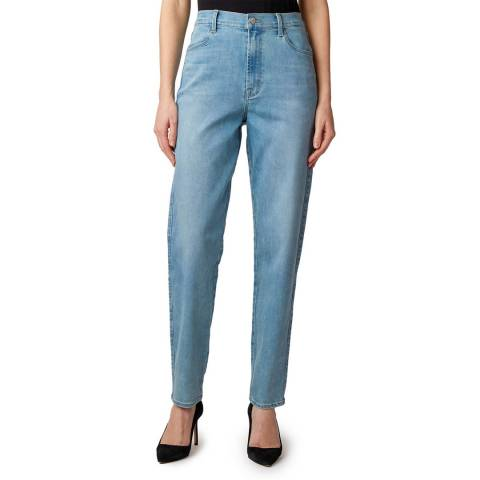 J Brand Blue Mia Tapered Stretch Jeans