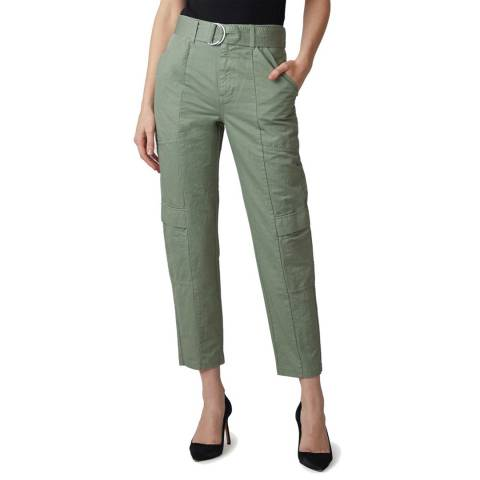 J Brand Khaki Athena Tapered Surplus Trousers