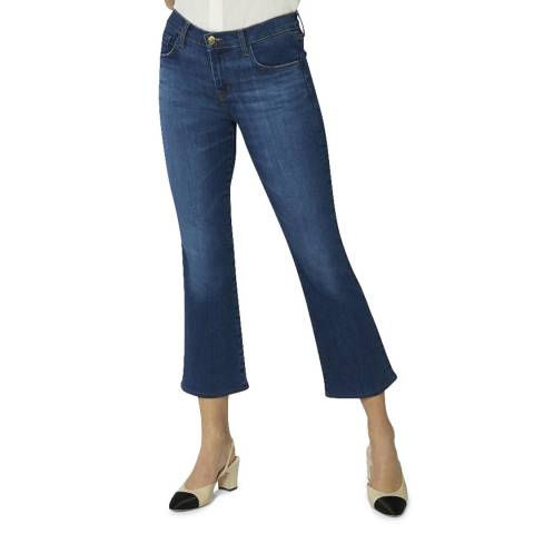 J Brand Dark Blue Selena Boot Cut Stretch Jeans