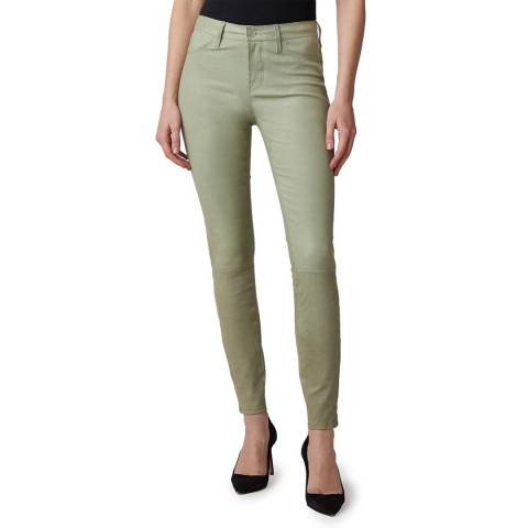 J Brand Sage L8001 Skinny Leather Jeans