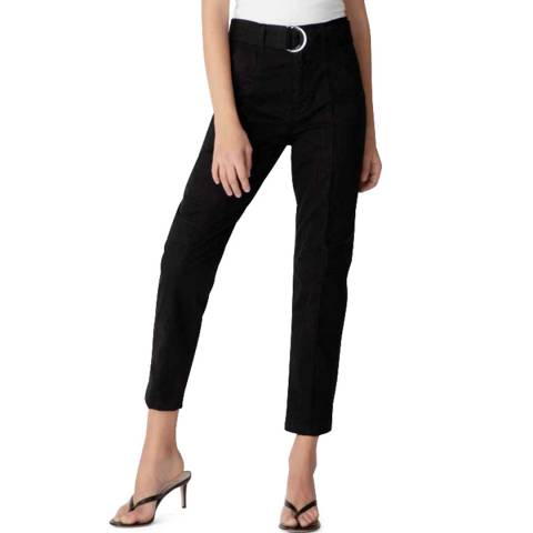J Brand Black Athena Tapered Surplus Trousers