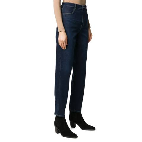 J Brand Indigo Mia Tapered Stretch Jeans