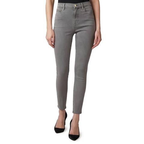 J Brand Grey Leenah Skinny Stetch Jeans