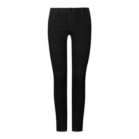 J Brand Jet Black Maria Skinny Stretch Jeans