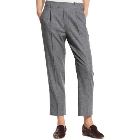 Vince Grey Easy Tapered Pull-On Trousers