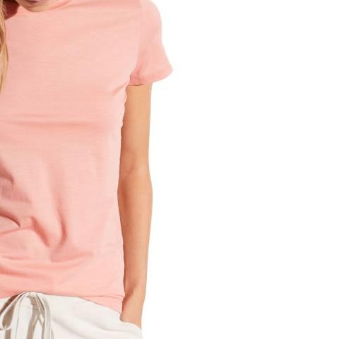 Vince Coral Essential Crew Neck T-Shirt