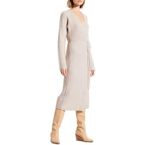 Vince Marble Wool/Cashmere Blend Wrap Dress