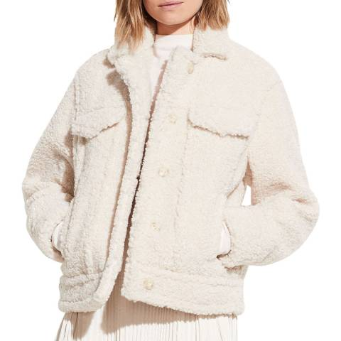Vince Pearl Sherpa Cosy Jacket