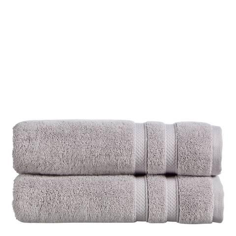 Christy Chroma Bath Towel, Dove Grey