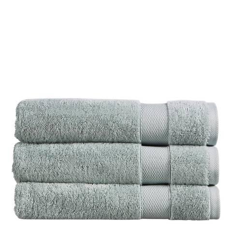 Christy Refresh Bath Towel, Duck Egg