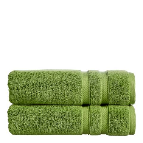 Christy Chroma Pack of 6 Face Cloths, Cactus