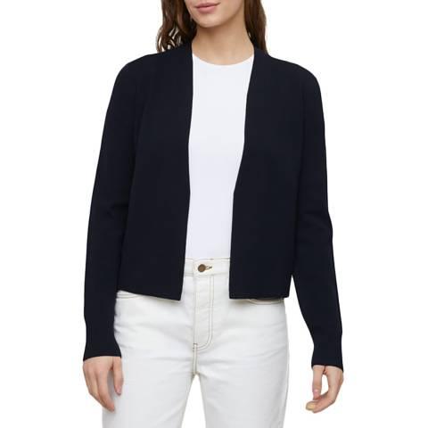 Jigsaw Black Clean Knit Jacket