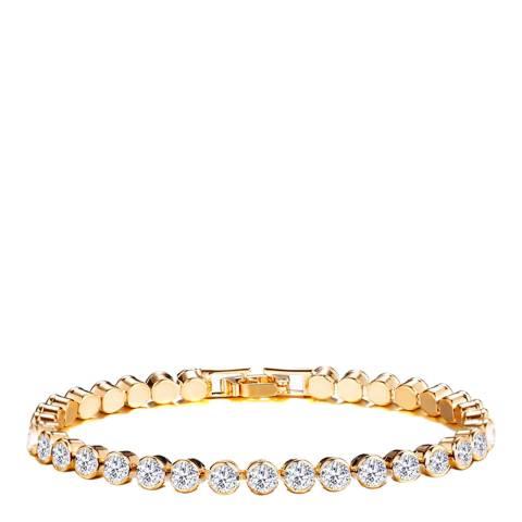 Liv Oliver 18K Gold Plated Tennis Bracelet