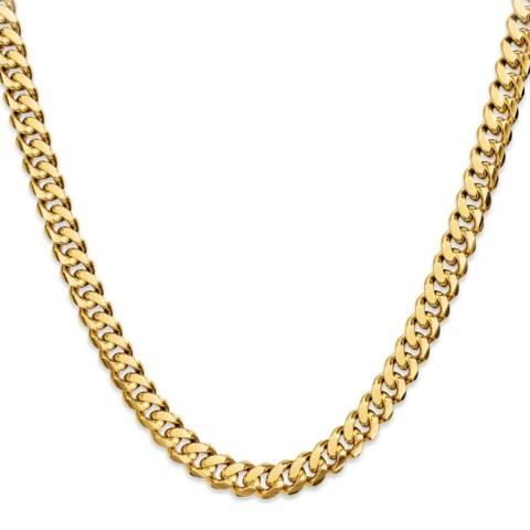 Stephen Oliver 18k Gold Plated Link Necklace