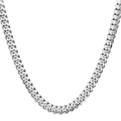 Stephen Oliver Silver Plated Link Necklace