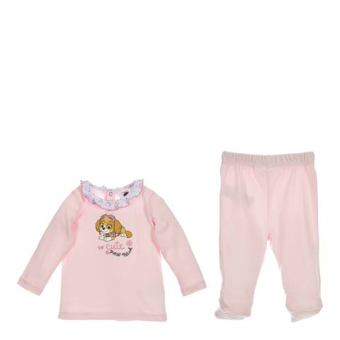 Disney Baby Light Pink Paw Patrol 2 Piece Set