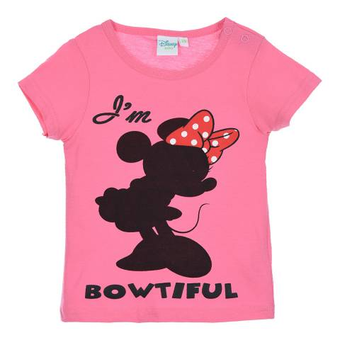 Disney Baby Pink Minnie Mouse T-Shirt