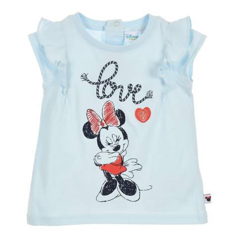 Disney Baby Light Blue Minnie Mouse T-Shirt