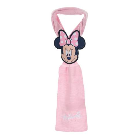 Disney Baby Light Pink Minnie Mouse Scarf