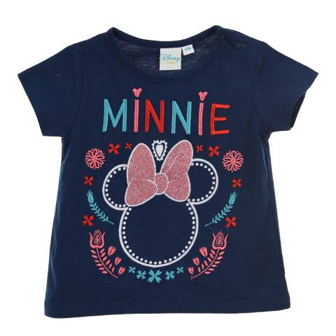 Disney Baby Navy Minnie Mouse T-Shirt