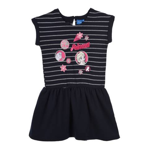 Disney Kid's Navy Frozen Princess Dress