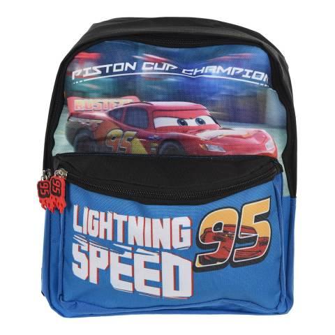 Disney Kid's Blue Car's Lightning McQueen Back Pack