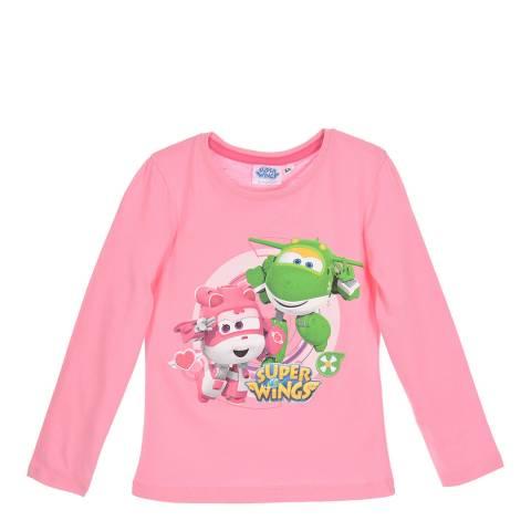 Disney Kid's Pink Super Wings T-Shirt