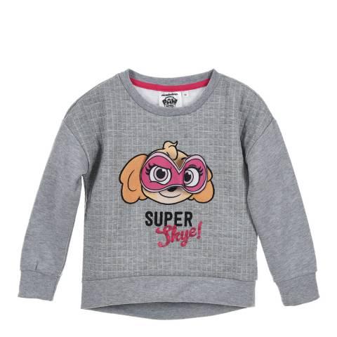 Disney Kid's Dark Grey Paw Patrol Super Skye Sweatshirt